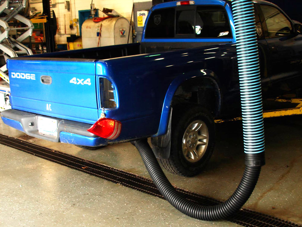 Vehicle Exhaust Gas Removal Systems Commercial Truck Exhaust