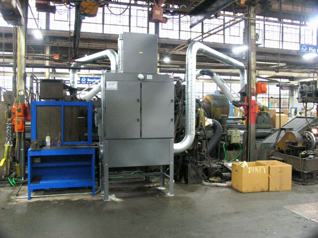 Industrial Air Cleaners : Industrial air cleaning systems commercial