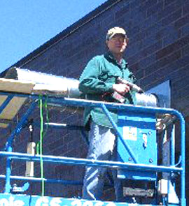 Air Cleaning Systems co-owner Jay Brindo