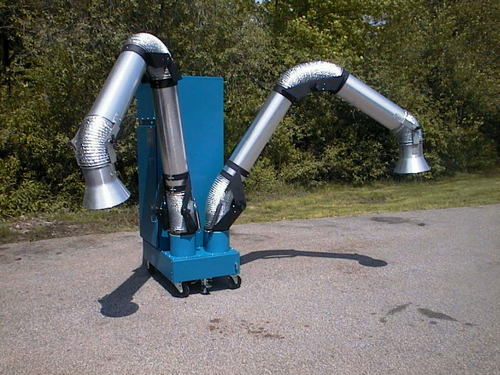 Industrial Air Cleaners : Portable air cleaning systems commercial